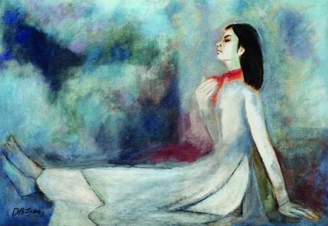 Tranh của họa sĩ Dương Bích Liên