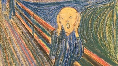 Bức tranh nổi tiếng The Scream (Tiếng thét) của danh họa Edward Munch