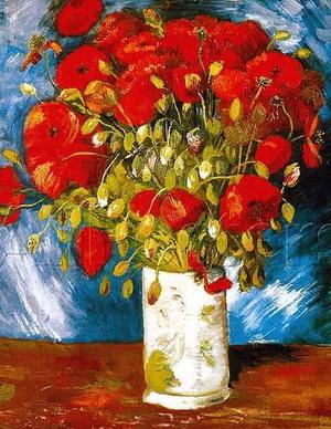 """Bức tranh """"Hoa Anh túc"""" của Van Gogh"""