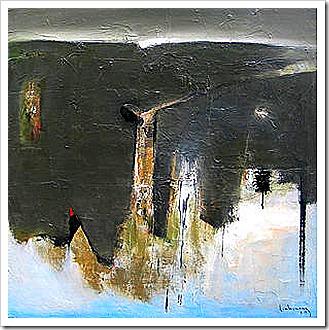Rừng Câm (tranh Đinh Cường, 2003)