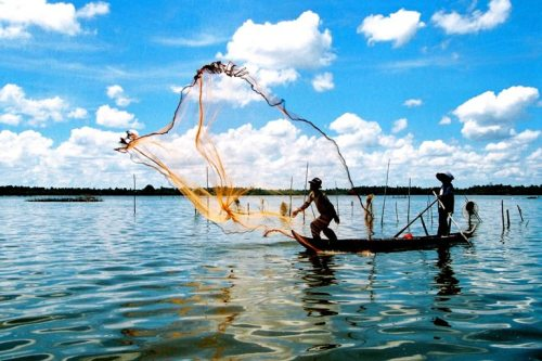 Ca mau Beach - Mekong Delta
