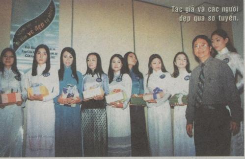DS Truong Tat Tho & cac nguoi dep qua so tuyen