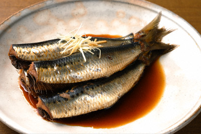 Boiled Sardine with Ginger