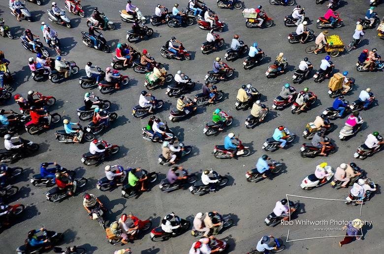 Motorbike has become a religion here