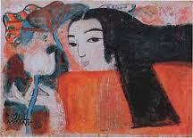 Tranh của họa sĩ Nguyễn Sáng