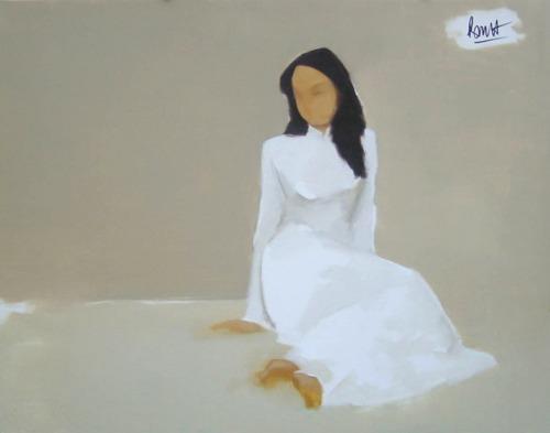 Tranh sơn dầu: Nguyễn Thanh Bình