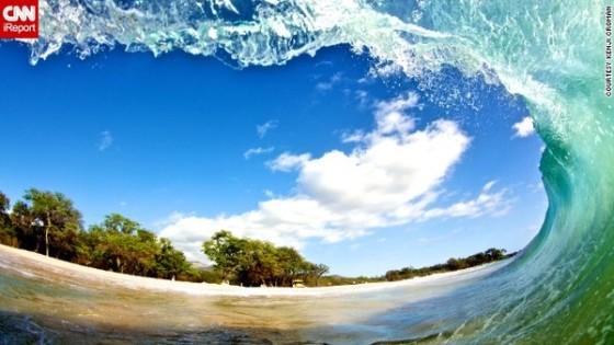 Kenji Croman Photography. Kenji Croman is a wave photographer located in Honolulu Hawaii.